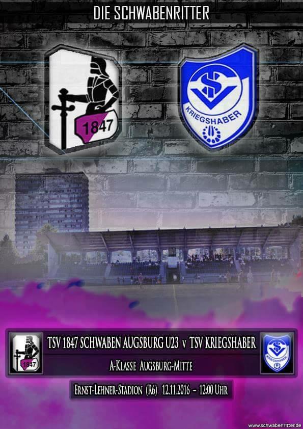TSV Schwaben U23 gg. TSV Kriegshaber